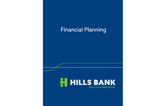 Financial Planning Booklet Cover