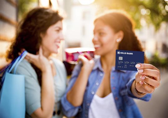 Hills Bank Visa gift card image