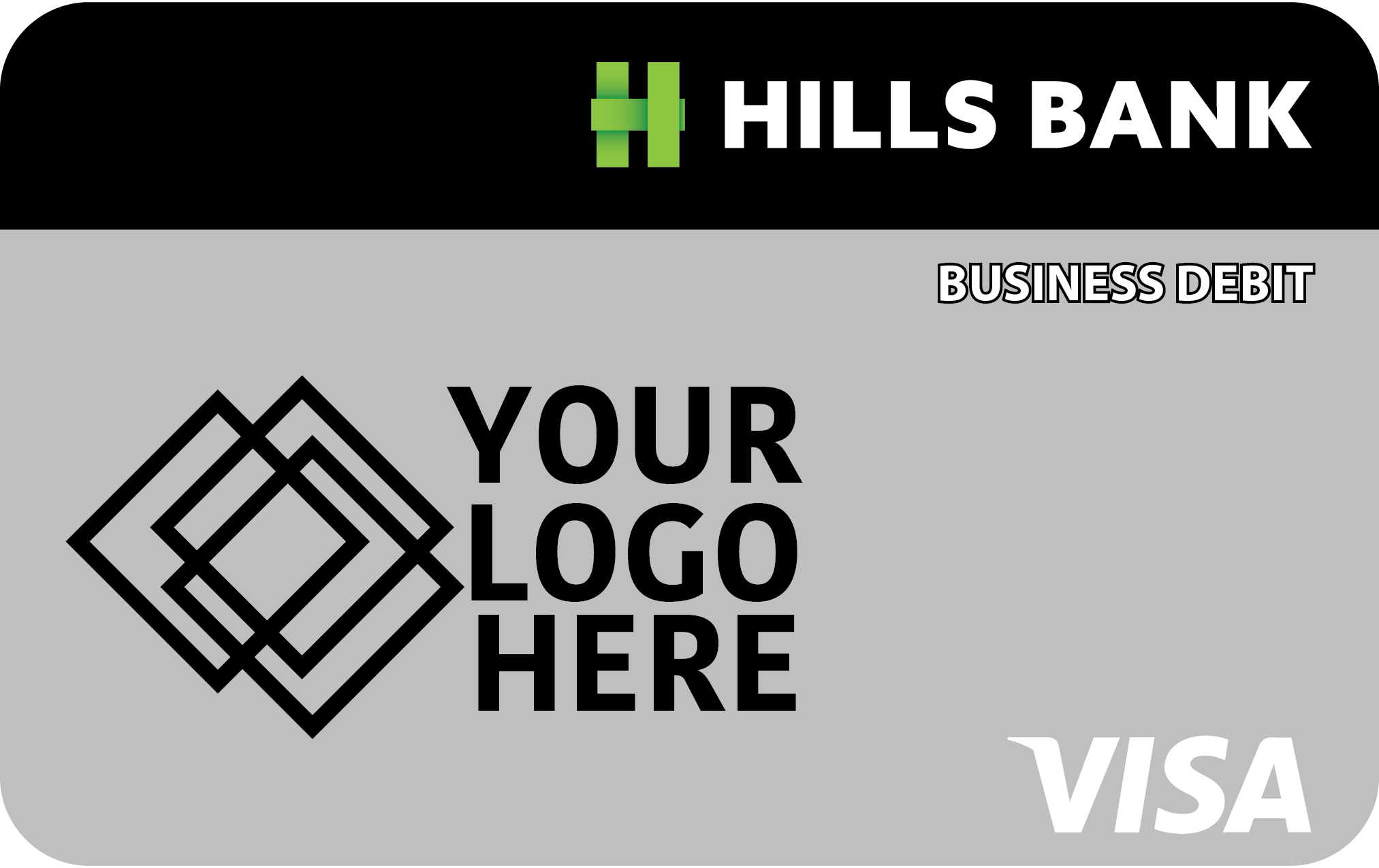 hills bank company card image